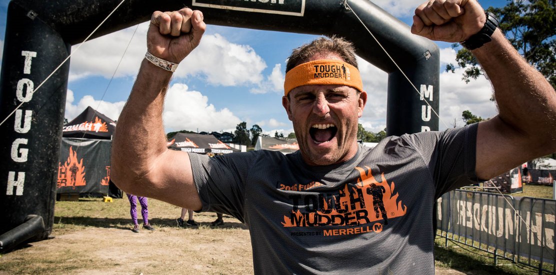 Billy Moore, Australian Rugby League player and State of Origin legend, as Tough Mudder South East Queensland ambassador - at the Sirromet Winery in Mt Cotton